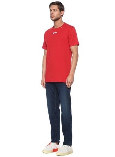 Off-White Tişört Kırmızı